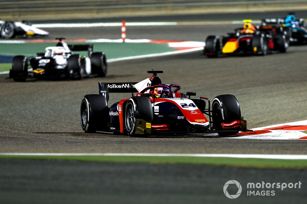 Bent Viscaal, Trident, precede Gianluca Petecof, Campos Racing