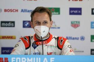 Rene Rast, Audi Sport ABT Schaeffler, in the press conference