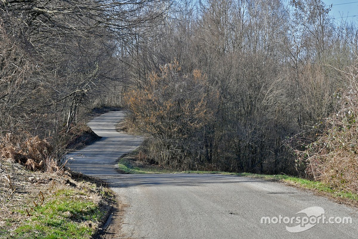 Rajd Chorwacji - trasa