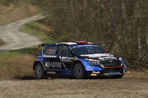 Kajetan Kajetanowicz, Maciej Szczepaniak, Skoda Fabia Rally2 evo