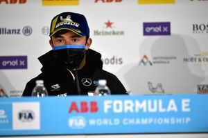 Nyck de Vries, Mercedes-Benz EQ, 1st position, in the Press Conference