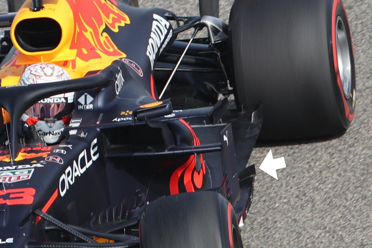 Red Bull RB16B: Unterboden