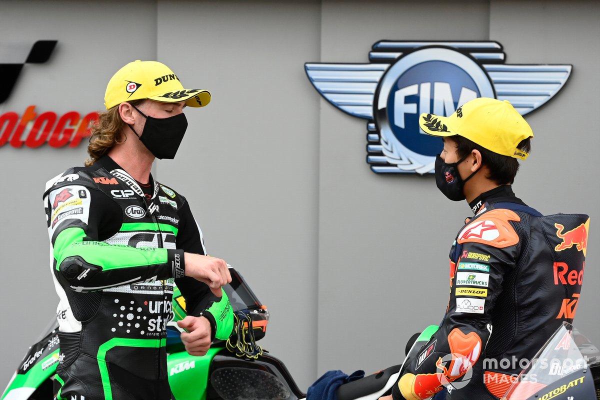 Darryn Binder, CIP Green Power, Kaito Toba, Red Bull KTM Ajo