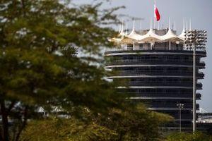Vista della pista del Bahrain