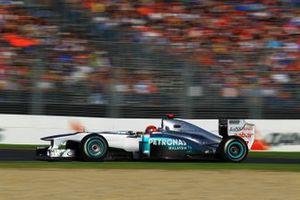 Michael Schumacher, Mercedes GP MGP W02