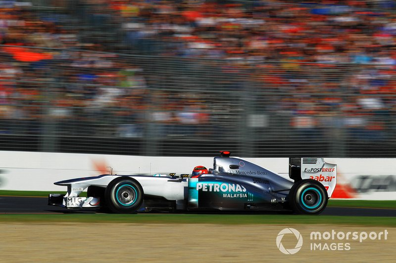 Michael Schumacher, Mercedes GP MGP W02