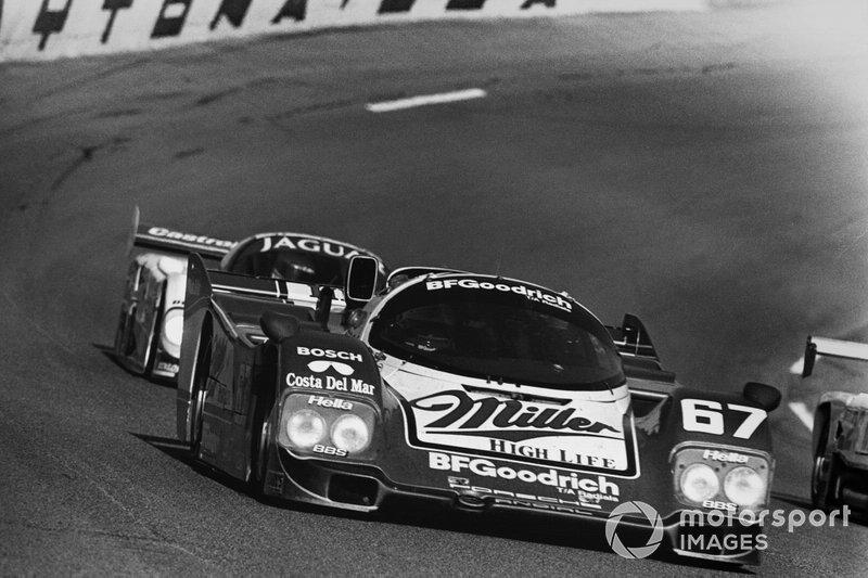 1989 Daytona 24 - John Andretti, Derek Bell, Bob Wollek, Porsche 962