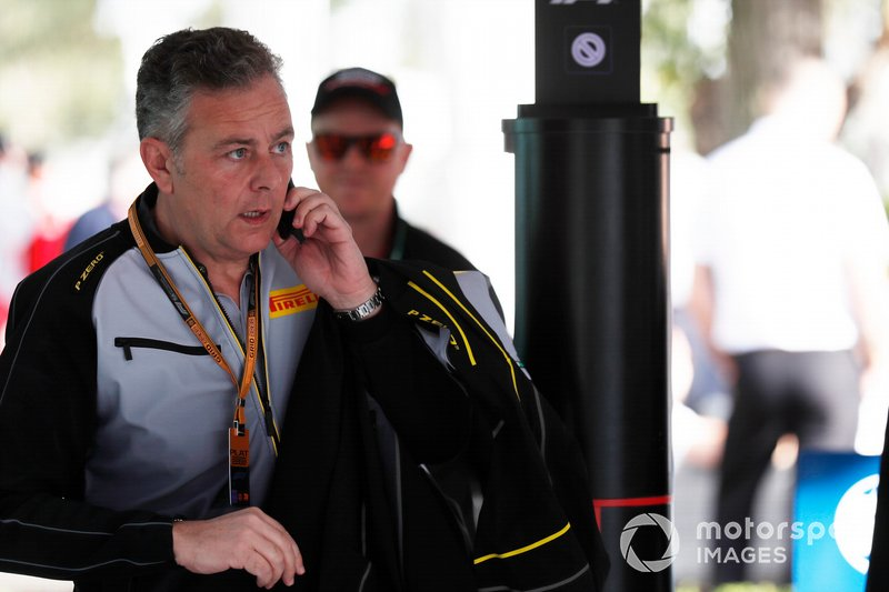Mario Isola, director de carreras, Pirelli Motorsport