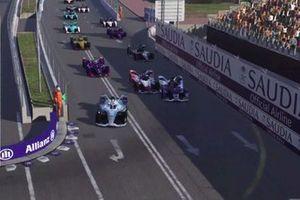 Виртуальная гонка Формулы Е