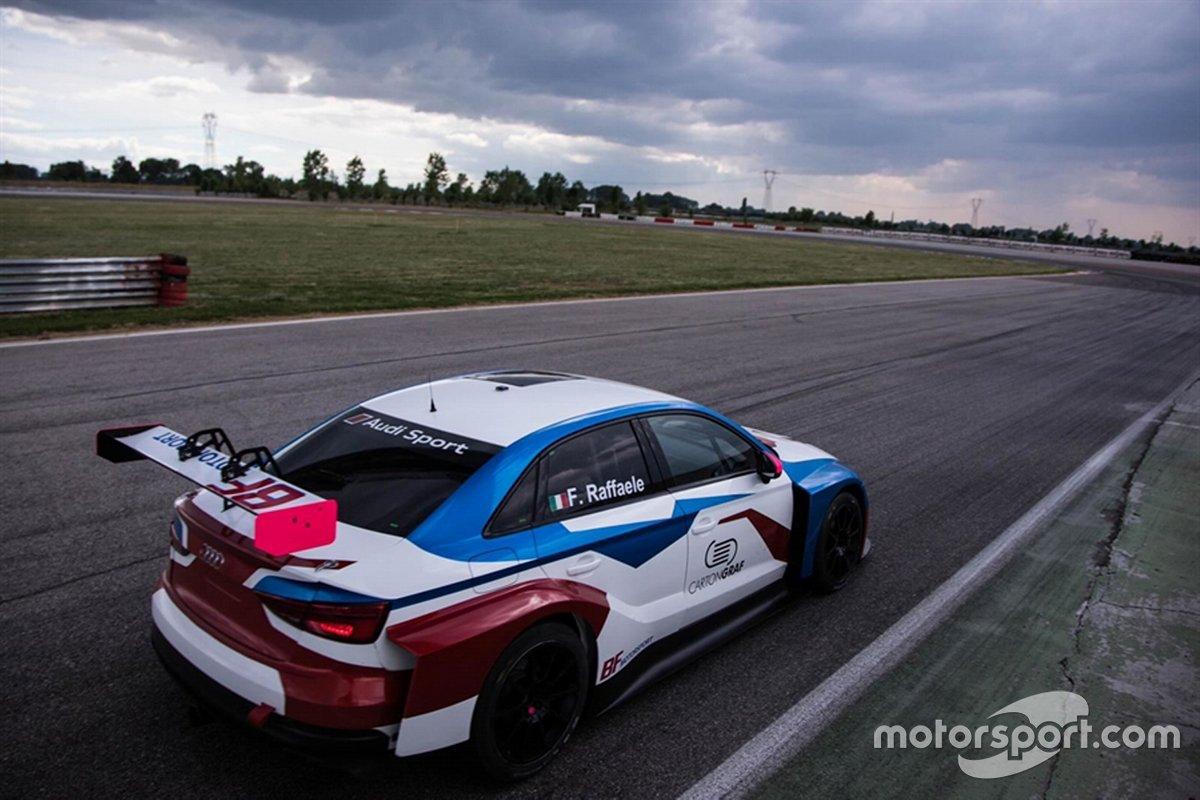 Francesca Raffaele, BF Motorsport, Audi RS 3 LMS TCR