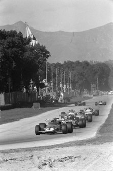Clay Regazzoni, Ferrari 312B voor Jackie Stewart, March 701 Ford