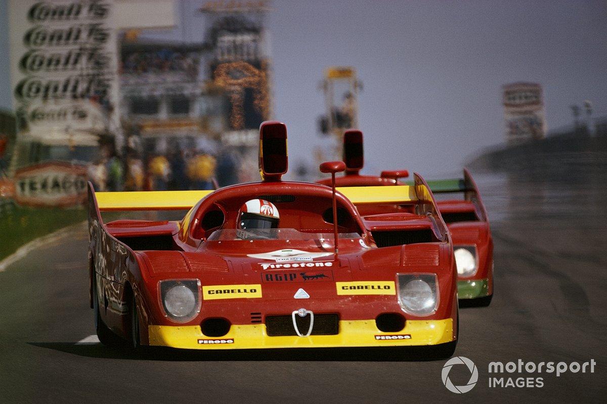 Rolf Stommelen, Carlos Reutemann, Autodelta SpA, Alfa Romeo T33/TT/12