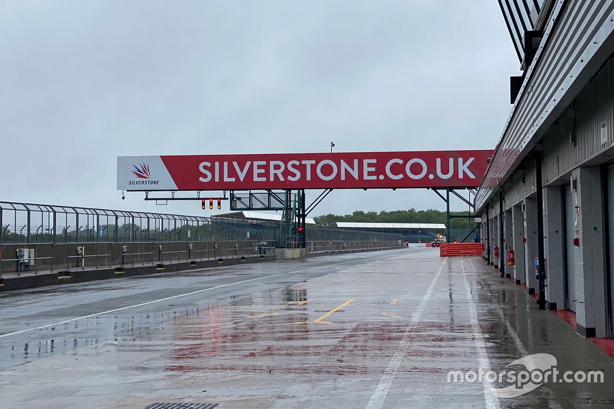 Pitlane de Silverstone