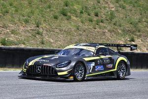 Linossi Francesca, Colombo Stefano, Ferrari Lorenzo, Mercedes AMG GT3 #27, Antonelli Motorsport