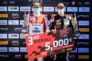 #55 Attempto Racing Audi R8 LMS GT3: Tommaso Mosca, Mattia Drudi
