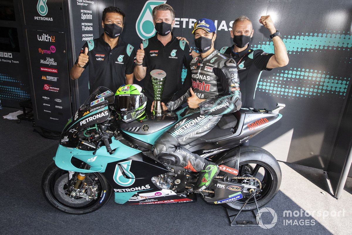 Segundo lugar Franco Morbidelli, Petronas Yamaha SRT