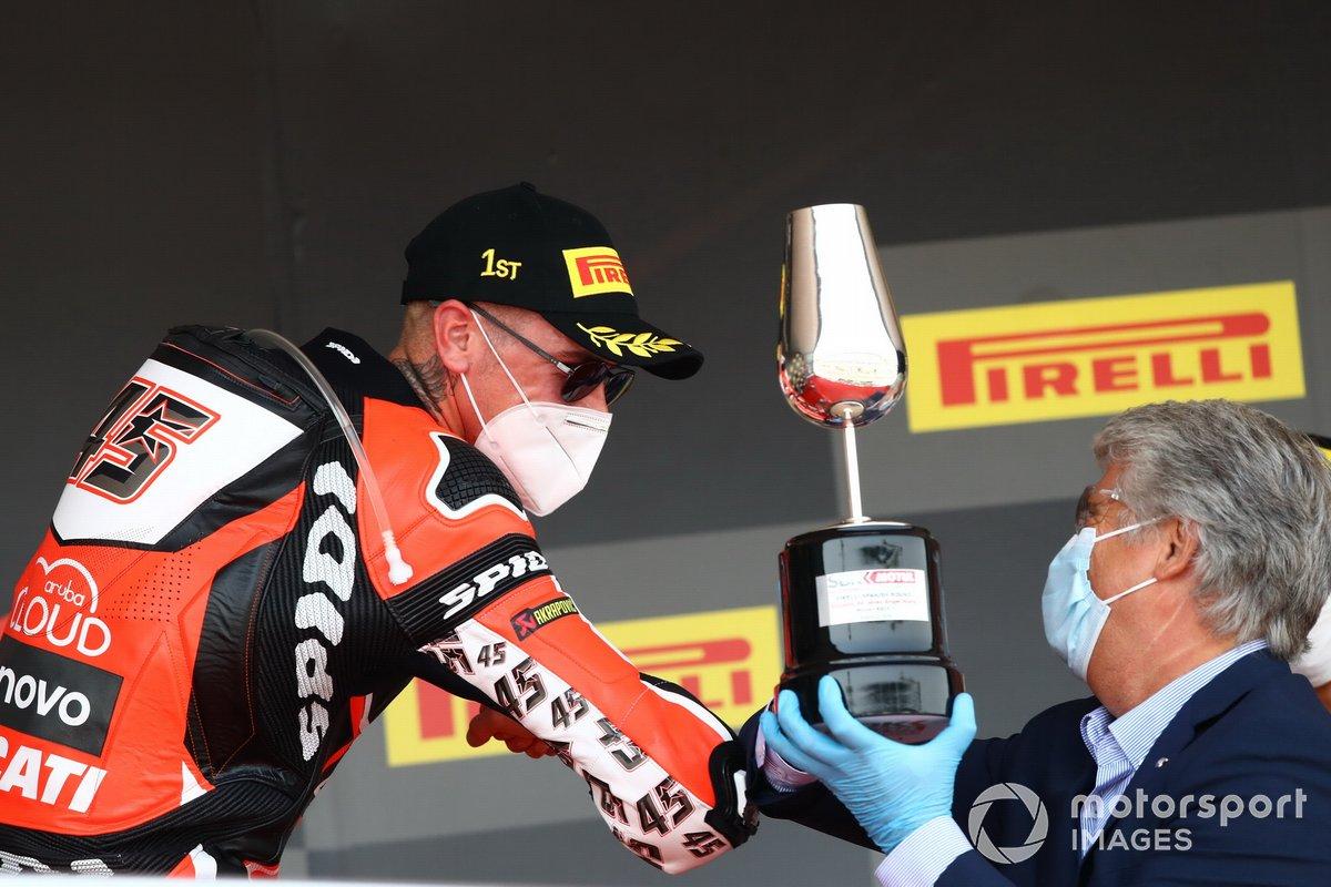 Scott Redding, Aruba.it Racing Ducati, Jorge Viegas, presidente FIM
