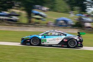 #22 Gradient Racing Acura NSX GT3:Till Bechtolsheimer, Marc Miller