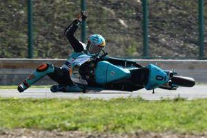 Sturz: Jaume Masia, Leopard Racing