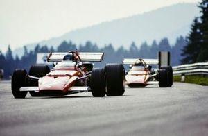 Jacky Ickx, Ferrari 312B, Clay Regazzoni, Ferrari 312B