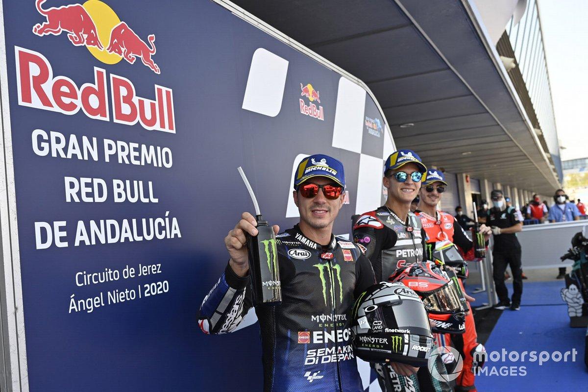 Maverick Viñales, Yamaha Factory Racing, Fabio Quartararo, Petronas Yamaha SRT, Pecco Bagnaia