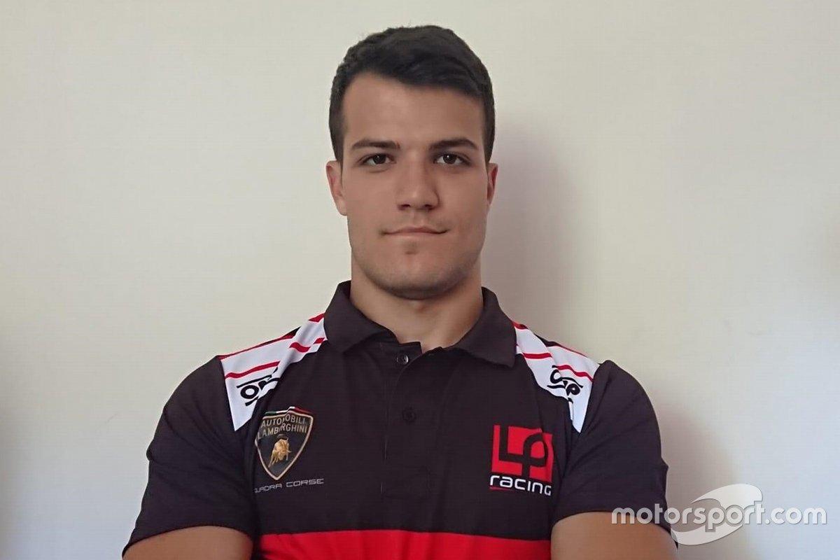 Lorenzo Marcucci, LP Racing, Lamborghini Huracan GT3