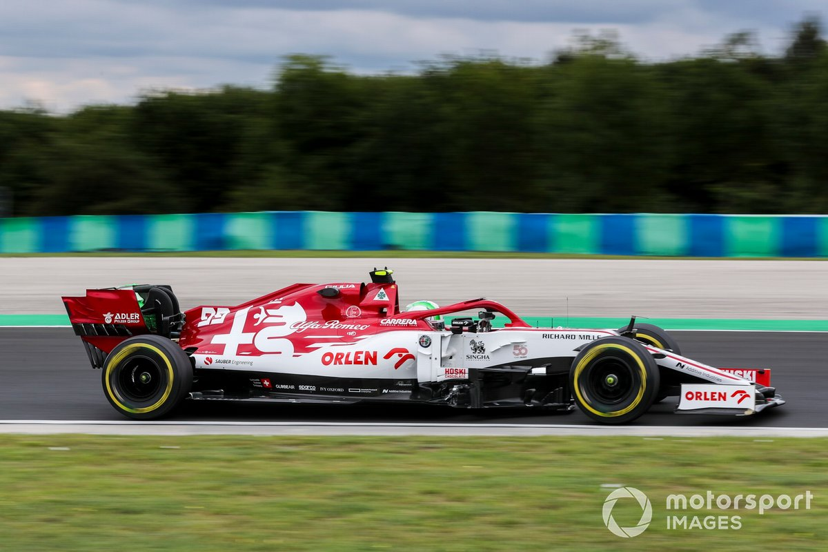 19-е место: Антонио Джовинацци (Alfa Romeo)