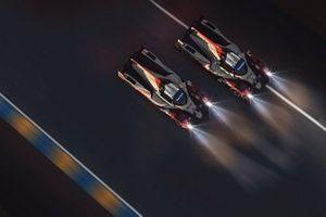 #8 Toyota Gazoo Racing Oreca 07 LMP2: Sébastien Buemi, Brendon Hartley, Kenta Yamashita, Yuri Kasdorp, #7 Toyota Gazoo Racing Oreca 07 LMP2: Mike Conway, Kamui Kobayashi, Jose Maria Lopez, Maxime Brient