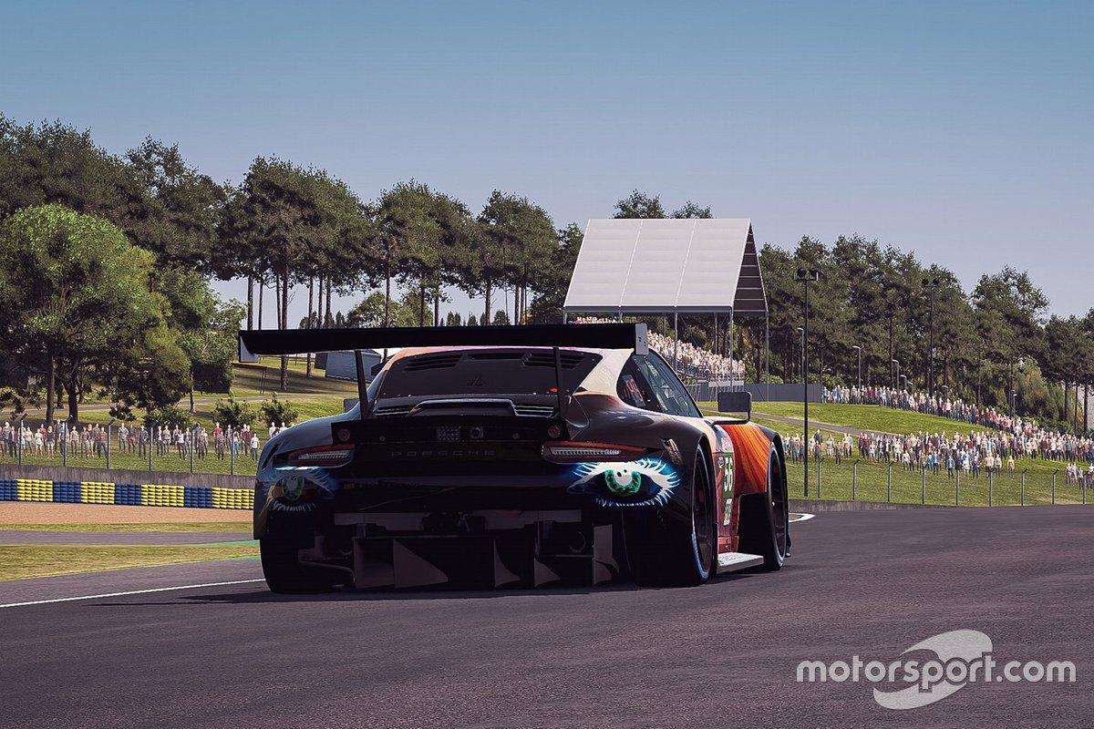 #56 Team Project 1 Porsche 911 RSR: Laurents Horr, David Kolkmann, Dany Giusa, Lukas Muller