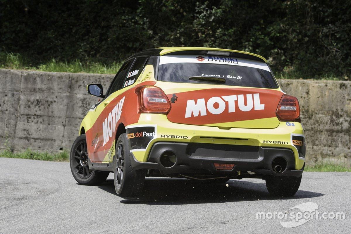 Simone Goldoni, Erik Macori, Suzuki Motorsport, Suzuki Swift Sport Hybrid R1