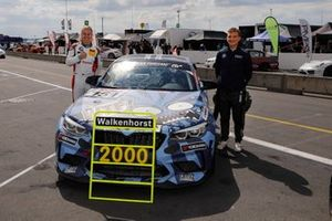 2000th BMW class wins for #151 Walkenhorst Motorsport BMW M2 CS Racing: Sami-Matt Trogen, Mario Von Bohlen