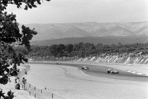Renn-Action beim GP Frankreich 1971 in Le Castellet