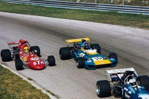 John Surtees, Surtees TS9 Ford, Graham Hill, Brabham BT34 Ford, Nanni Galli, March 711 Ford