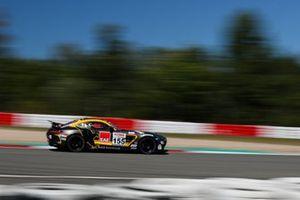 #155 Black Falcon Team Textar Mercedes-AMG GT4: Mustafa Mehmet Kaya, Gabriele Piana, Mike Stursberg