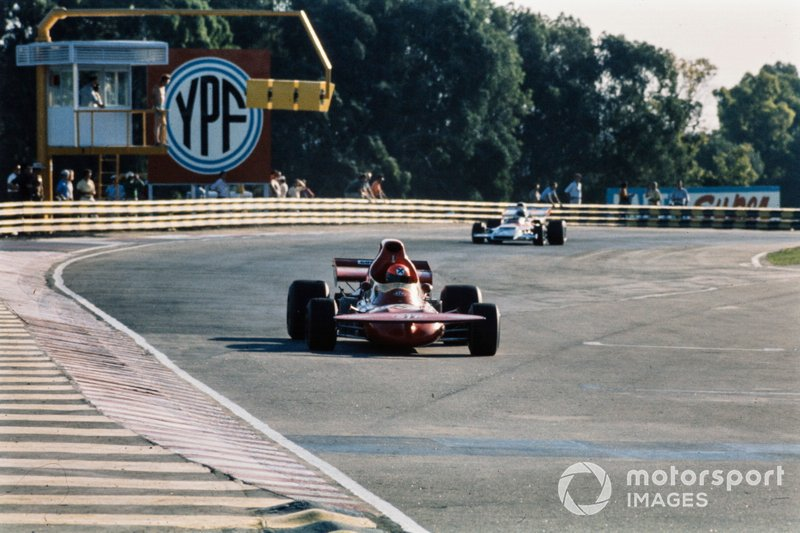 Niki Lauda, March 721 Ford, GP d'Argentina del 1972