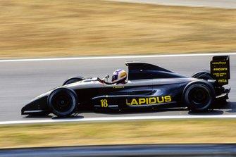 Yannick Dalmas, AGS JH25 Ford, al GP d'Ungheria del 1990