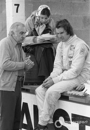 Wilson Fittipaldi Sr., Suzi Fittipaldi and Wilson Fittipaldi, Brabham