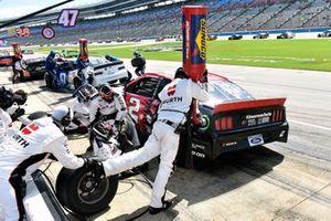 Brad Keselowski, Team Penske, Ford Mustang Wurth gasman