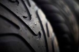 Pirelli tyre close up