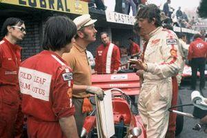 Jochen Rindt, Lotus 72, mit Colin Chapman