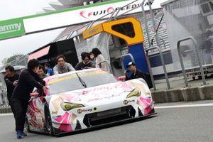 #25 Team Tsuchiya Toyota MC86