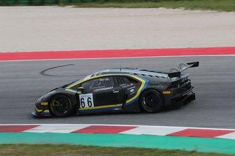 #66 Lamborghini Huracan GT3 PRO-AM, Vincenzo Sospiri Racing: Kang-Tujula