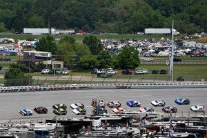 Tyler Reddick, Richard Childress Racing, Chevrolet Camaro Roland and Michael Annett, JR Motorsports, Chevrolet Camaro Chevrolet TMC Transportation