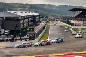 2. Yarış start, Ayhancan Güven, Porsche 911 GT3, Pierre Martinet by Almeras