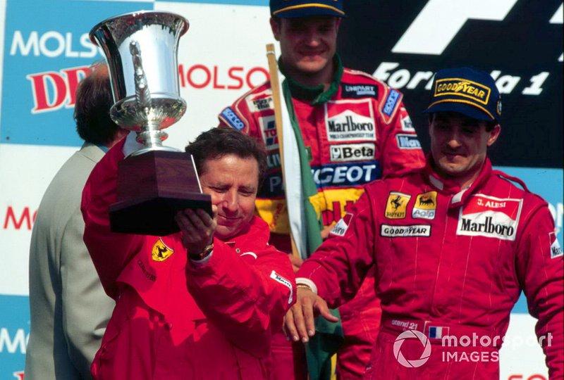 #81 Jean Alesi, Ferrari