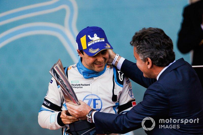 Em 2018, Massa anunciou que correria na categoria totalmente elétrica, a Fórmula E. Na primeira temporada, seu melhor resultado foi em Mônaco, na terceira posição. Ainda em fase de aprendizado, o brasileiro foi o 15º colocado no campeonato.