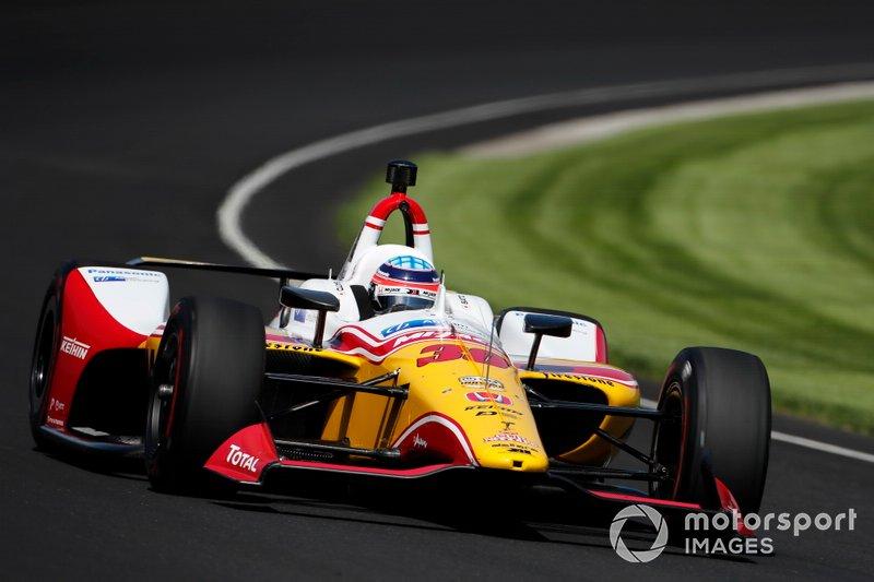 14. Takuma Sato, Rahal Letterman Lanigan Racing Honda