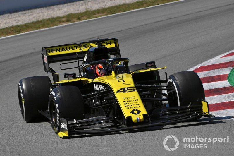 Jack Aitken, Renault R.S. 19