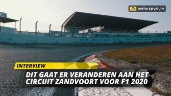 Veranderingen Circuit Zandvoort F1 2020