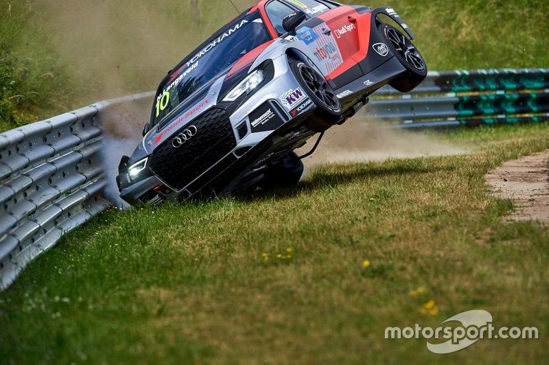 Crash, Niels Langeveld, Comtoyou Team Audi Sport Audi RS 3 LMS